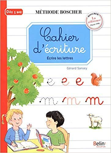 Telecharger Cahier D Ecriture Ecrire Les Lettres Pdf Par Un Cahier Pour Que L Enfant Maitrise L E French Language Learning Kids Book Finder Teaching French