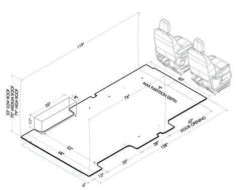Workable Dimensions Of Ford Jumbo Van