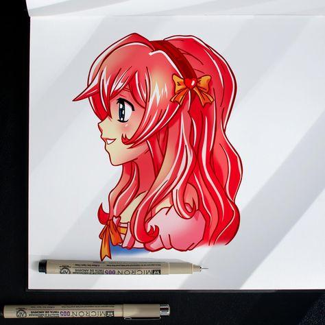 [TutoDessin] Comment dessiner facilement un personnage manga de profil | Style MOE | DÉBUTANT