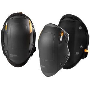 Toughbuilt Gelfit Black Rocker Knee Pads Tb Kp G201 The Home Depot In 2020 Knee Pads Rocker Hard Wear