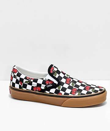 Vans Slip-On Cherry Black \u0026 Gum