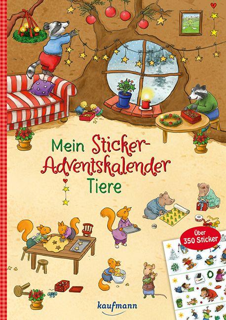 Sticker Adventskalender Fur Kinder Ab 3 Jahren Adventkalender Adventskalender Adventskalender Kinder