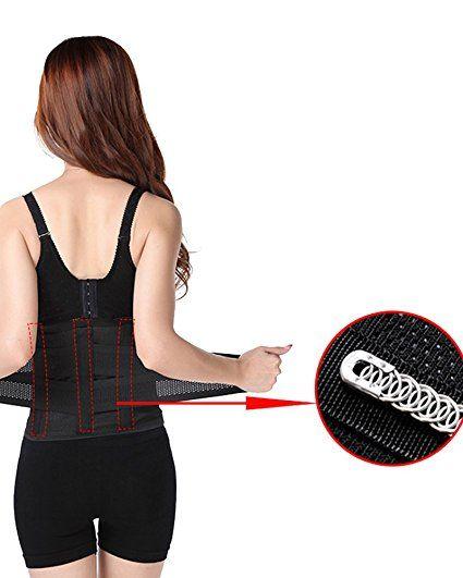 f9e9684538b Tulucky Women s Waist Cincher Trainer Body Girdle Corset Gym Workout Sport  Shaper at Amazon Women s Clothing store