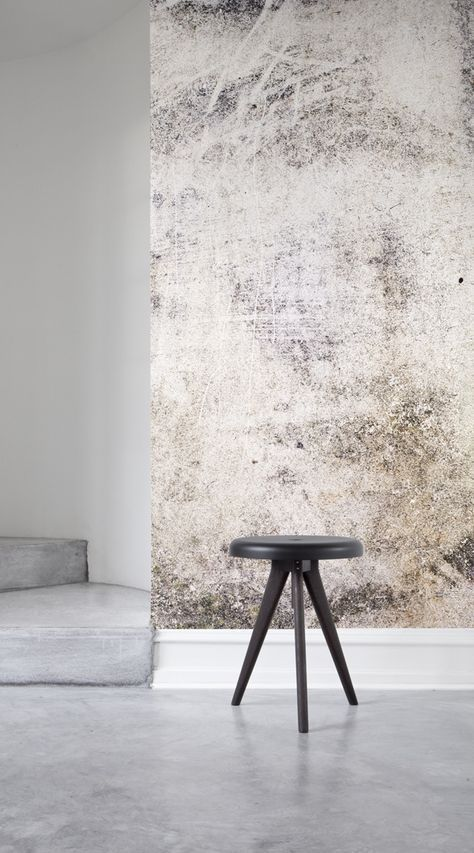 Distressed Concrete Wallpaper Mural Muralswallpaper In 2020 Interior Wall Design Concrete Wallpaper Wallpaper Accent Wall