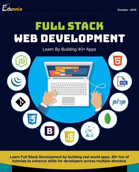 Infograph on Full Stack Web Development Bundle