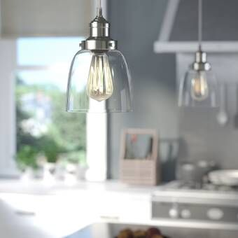 Mercury Row Bundaberg 1 Light Single Bell Pendant Reviews Wayfair Pendant Light Fixtures Cone Pendant Pendant Lighting