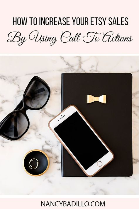 How to increase your Etsy Sales by using call to actions