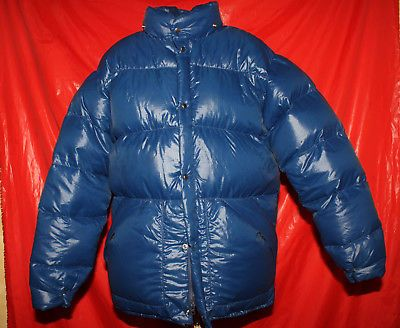 80er Jahre Daunenjacke Skijacke Daunen Winterjacke Vintage Goose Down Jacket