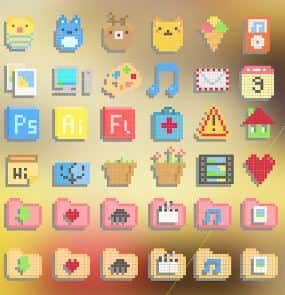 Top 8 Best Windows 10 Icon Packs Free Download 2019 Edition Free Desktop Icons Desktop Icons Icon Pack
