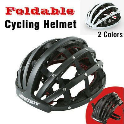 Details About Bikeboy Foldable Bicycle Helmet Bike Cycling Folding