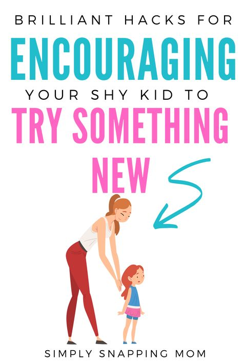 How to Encourage Shy Kids to Try New Things