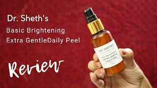 Gentle Chemical peel at home