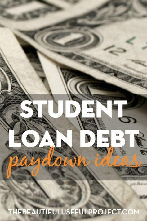Student Loan Debt Paydown Ideas - SAVERCHIC