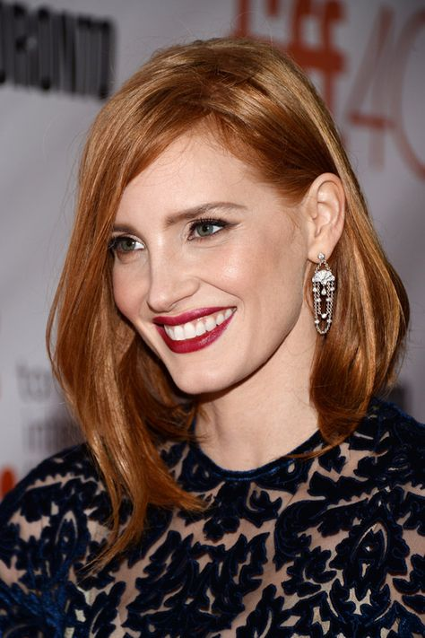 Celebrity vegan: Jessica Chastain—The actress was a vegetarian for 15 years before going vegan in 2003.