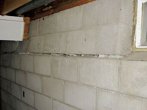 Does Your Basement Resemble This Bowing Wall Fix It With A Power Brace From Matvey Foundation Repair Foundation Repair Basement Repair Waterproofing Basement