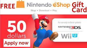 Free Unused Nintendo Eshop Codes Switch