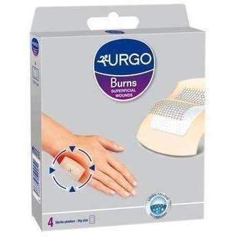 Surface Wounds Urgo Slices For Burns And Surface Wounds Large X 4 Pieces Wounds Burns 2nd Degree Burns
