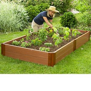 Raised Garden Bed Kit 4 X 8 X 12 Just Got This Over The