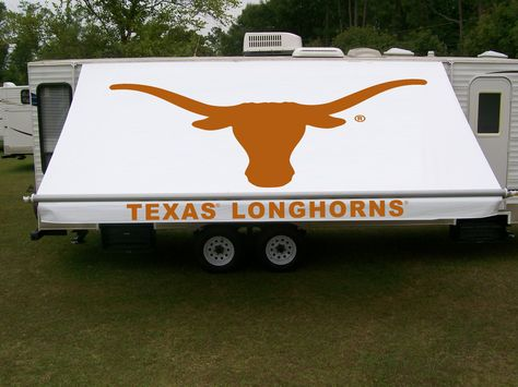 Texas Longhorns RV awning by Fun In The Shade