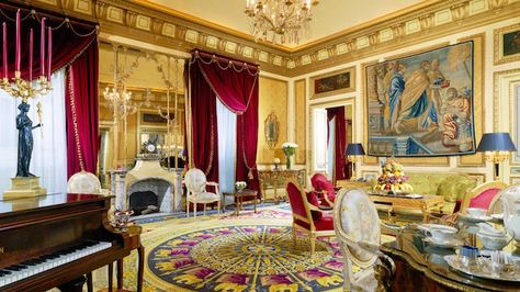 The Royal Suite At The St Regis Rome Is Out Of This World With