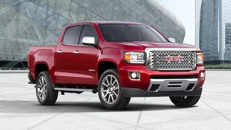 Exterior Gallery Image Featuring The 2019 Gmc Canyon Denali Small