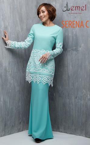 EMEL.MY   Baju Raya, Baju Kurung Moden, Baju Kurung Lace Online
