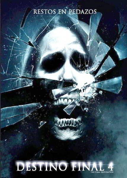 Ver Destino Final 4 2009 Online Descargar Hd Gratis Espanol Latino Subtitulada Final Destination Movies Horror Movie Posters Horror Movies