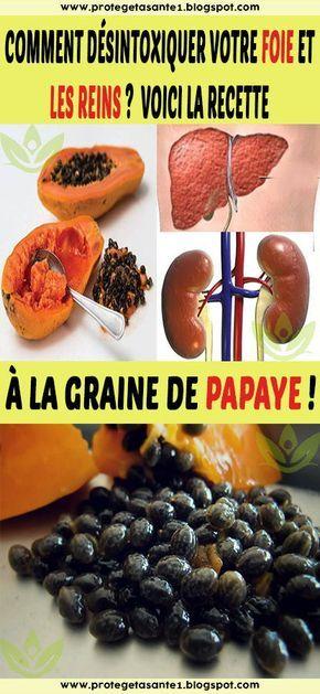 Cirrhose Du Foie+traitement Naturel : cirrhose, foie+traitement, naturel, Comment, Désintoxiquer, Votre, Reins?, Voici, Recette, Graine, Papaye!, Food,, Healthy, Recipes,