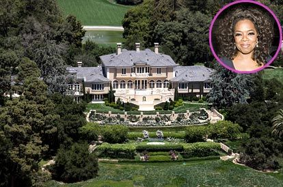 Oprah winfrey mansion on pinterest oprah winfrey for 50 million dollar homes