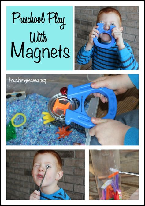 Fun, Hands-On Magnet Play for Preschoolers