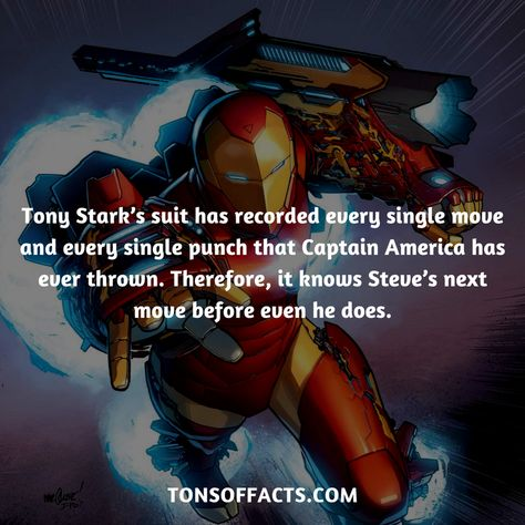 27 Interesting And Fascinating Facts About Iron Man - Tons Of Facts