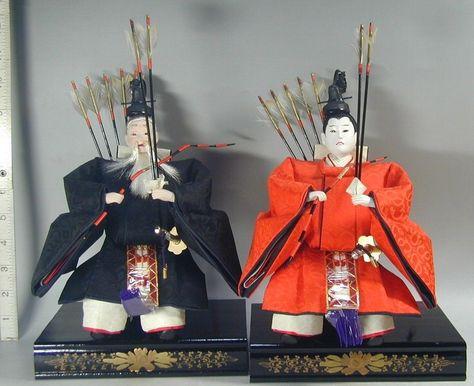 Hina Emperor Hat /& Tassle Japanese Doll Miniature KANZASHI Part C