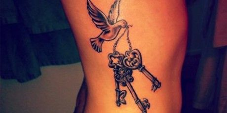 Znalezione Obrazy Dla Zapytania Tatuaże Damskie Na żebrach