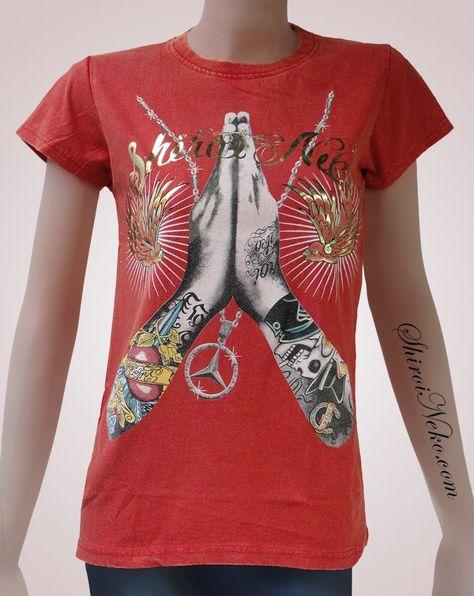 Red Black Brand Audrey Hepburn High Roller Sublimated T-Shirt