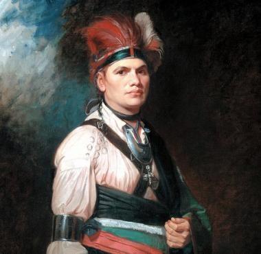 Joseph Brant King George Iii King George American Colonists