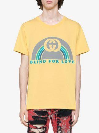 57a27ce45 Gucci Oversize T-shirt With Rainbow Print | Wish'18 | Shirts ...