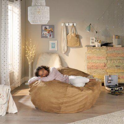 Grovelane Extra Large Bean Bag Lounger Wayfair Ca In 2020 Room Ideas Bedroom Noble House Bean Bag Chair