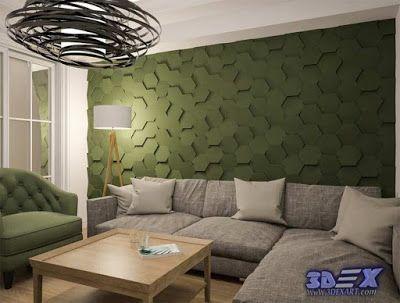 Modern 3d Gypsum Wall Panels For Living Room Plaster Wall
