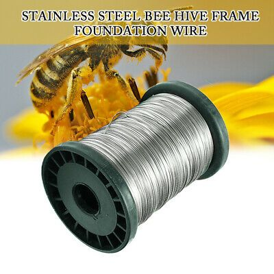 500g 0.5mm Stainless Steel Bee Hive Frame Foundation Wire Beekeeping Comb Tools