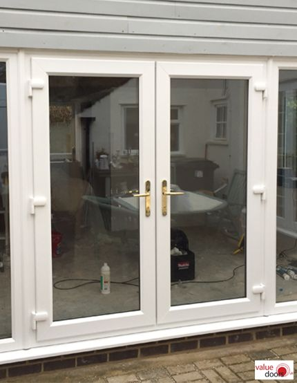 White French Doors In 2020 French Doors Patio French Doors External French Doors
