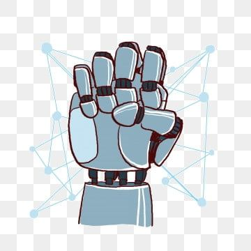 Cartoon Hand Painted Robotic Hand Fist Png Free Material Fist Clipart Hand Cartoon Hand Png Transparent Clipart Image And Psd File For Free Download Hand Fist Cartoon Fist Robot Cartoon
