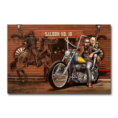 Ghost Rider David Mann Art Silk Poster 12x18 24x36