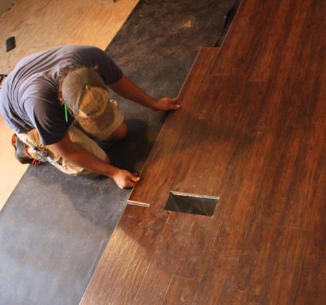 Installing Laminate, from Extreme How To