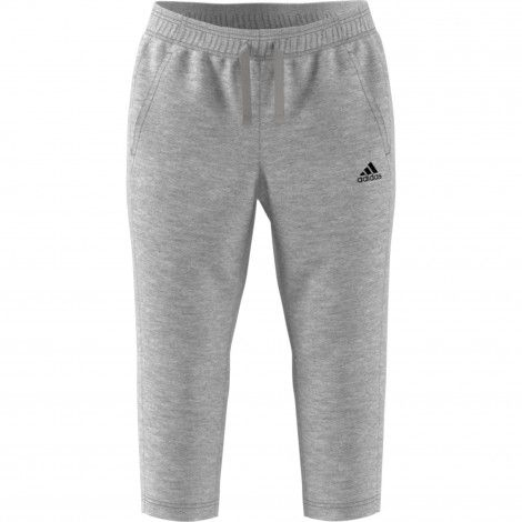 adidas Essentials Solid 3/4 joggingbroek dames grey ...