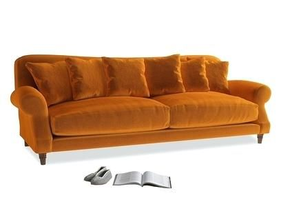 Wondrous Fantastic Orange Sofa Bed Illustrations Good Orange Sofa Machost Co Dining Chair Design Ideas Machostcouk