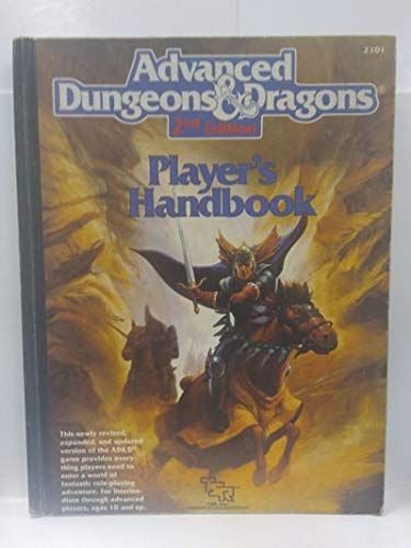 Read Online Advanced Dungeons And Dragons 2nd Edition Player S