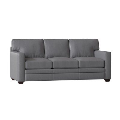 Wayfair Custom Upholstery Tyrone Genuine Leather 81 Square Arm Sleeper Sofa Bed Birch Lane In 2020 Leather Sofa Bed Upholstery Bed Sofa Bed