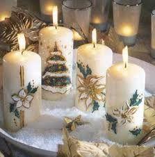 Bildergebnis Fur Kerzen Schmucken Weihnachten Kerzen Verzieren
