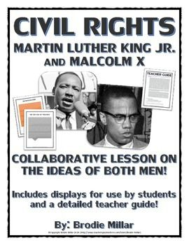 a comparison of the aims and methods of martin luther king and malcolm x Martin luther king and malcolm x: on being, knowing, and the dignity of persons discussion paper, prepared for blind review for saap, 2010.