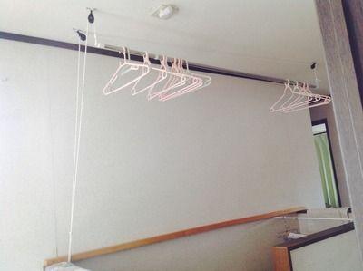 Diy 昇降式 物干し 物干し 家の整理整頓 室内物干し